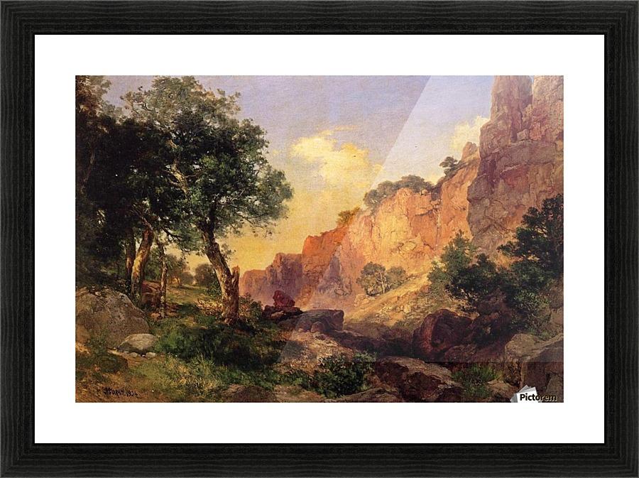 The Grand Canyon Thomas Moran Canvas