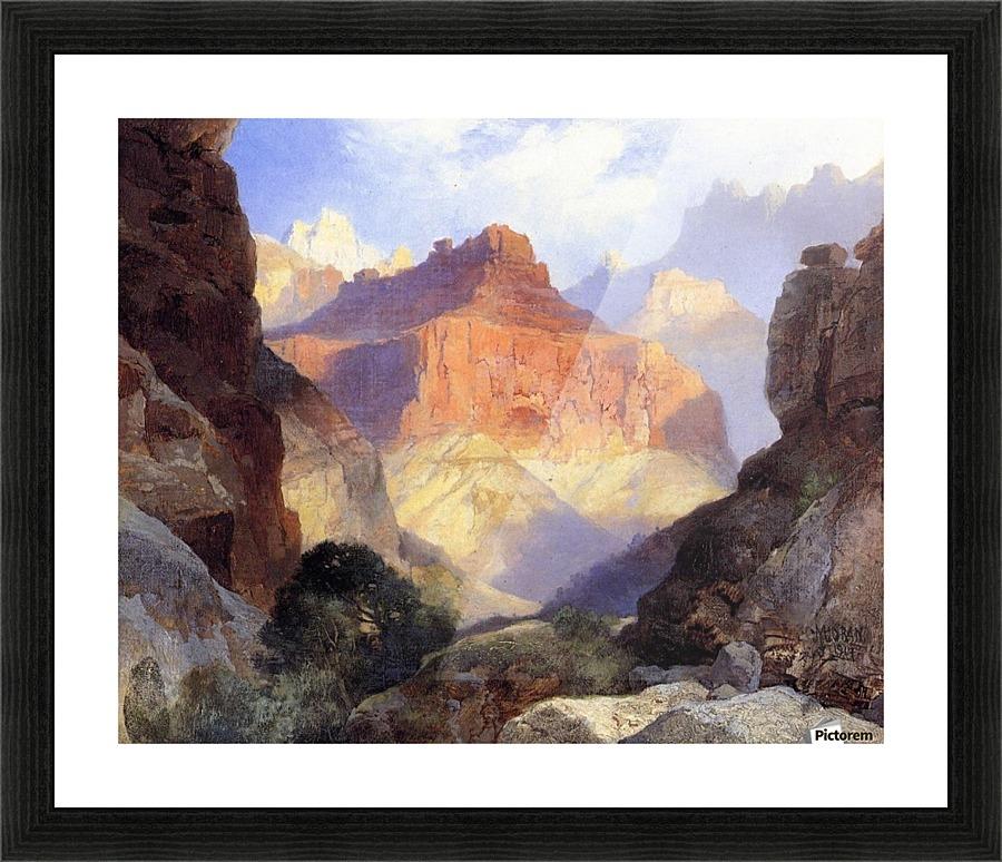 Under the Red Wall Grand Canyon of Arizona - Thomas Moran Canvas