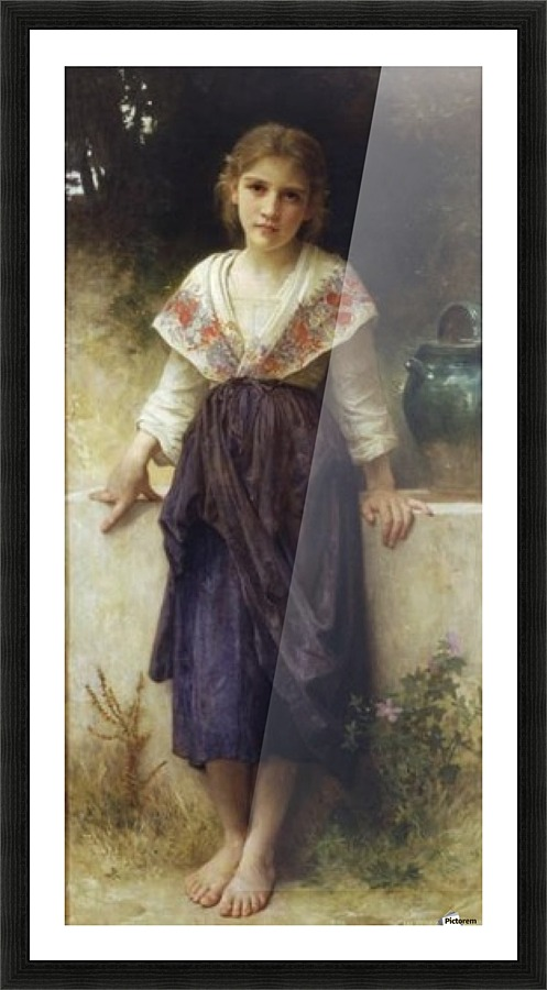 A Moment Of Rest William Adolphe Bouguereau Canvas