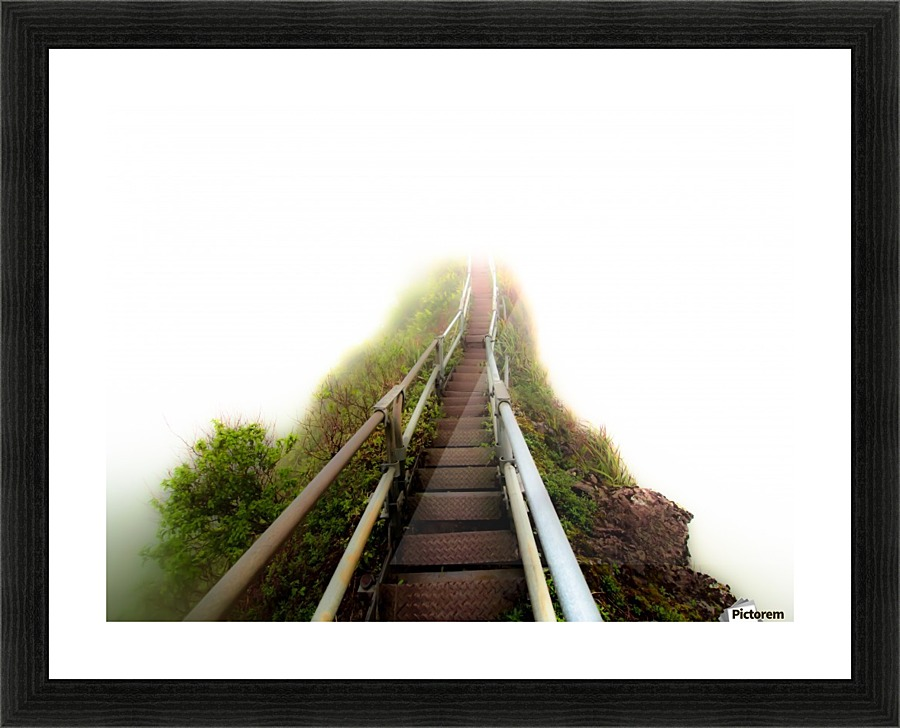 Stairway To Heaven Cullen Kamisugi Canvas