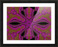 A Flower 3 Picture Frame print