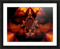 Fire Orchid 1 Picture Frame print