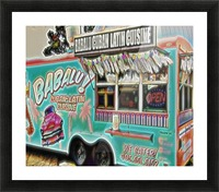 food truck one- okc Picture Frame print