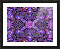 Psychedelic Jasmine 1 Picture Frame print