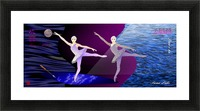 Dance of the Swans Picture Frame print