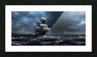 Stormy Seas by Jordan Blackstone Picture Frame print