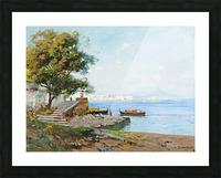 La baie de Naples Impression et Cadre photo
