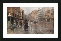 Napoli, Via Toledo Impression et Cadre photo