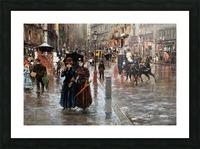 Naples via Toledo, with rain drops Impression et Cadre photo