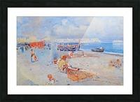 Beach of Mergellina Impression et Cadre photo