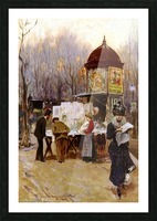 Paris, 1899 Impression et Cadre photo
