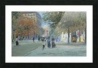 Avenue de l'Observatoire Picture Frame print