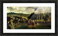 Race at Longchamp by Edouard_Manet Picture Frame print