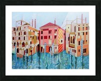 Memory of Venice Picture Frame print