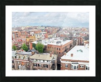 City Roof Tops  Picture Frame print
