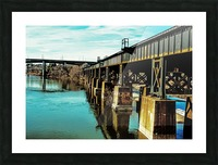 Bridge Over Troubled Waters Picture Frame print