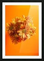 Orange scent Picture Frame print