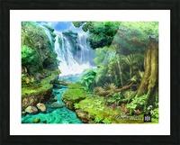 ART  Pinchos  WATER  Baal shem tov VR Picture Frame print