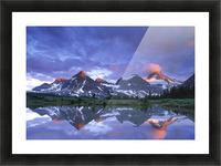 Mt Assiniboine Provincial Park, British Columbia, Canada Picture Frame print