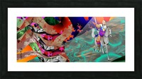 Raimbaud & an Enigma Picture Frame print