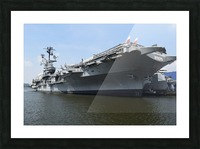 THE INTREPID, NEW YORK Picture Frame print