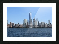 MANHATTAN, NEW YORK Picture Frame print