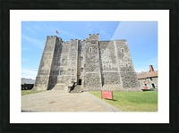 DOVER CASTLE, UK Impression et Cadre photo