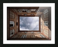 The Sky....... Picture Frame print