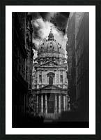 PARIS or ROMA  Picture Frame print