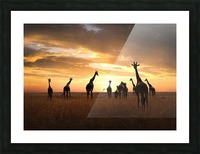Family Picture Frame print