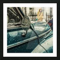 London Rain Picture Frame print