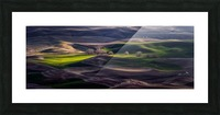 Last Light Of The Day Picture Frame print