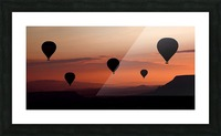 balloons Picture Frame print