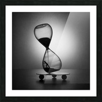 Stop the time Picture Frame print