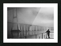 Vasco da Gama Bridge - Lisbon Picture Frame print