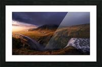 A different Skogafoss Picture Frame print
