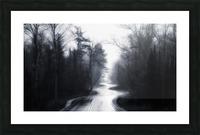 Slalom Picture Frame print