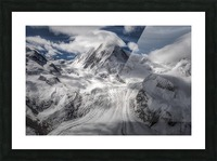 Glacial Picture Frame print