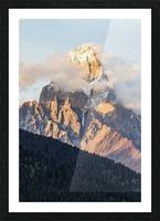 Mount Ushba, Caucasus Mountains, Zemo Svaneti National Park; Samegrelo-Zemo Svaneti, Georgia Picture Frame print