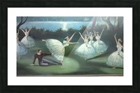 dancing  in moon lights Picture Frame print