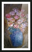 flowers vase Picture Frame print