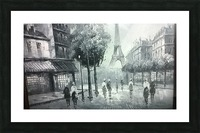 paris  Picture Frame print