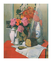 Still life by Felix Vallotton Picture Frame print