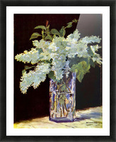 Still Life by Manet Picture Frame print