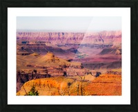 desert view at Grand Canyon national park, USA Picture Frame print