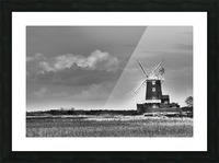 Cloud blower Picture Frame print