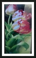 Red Love Flowers Impression et Cadre photo