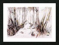 Woodland Stream Picture Frame print