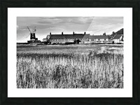 Wind houses Picture Frame print