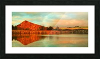 Still Quarry Picture Frame print